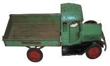 antiique pressed steel toys buddy l coal truck buddy l toys sturditoy toy coal truck with sturidtoy decals on both raidiator and rear sturditoy bed box