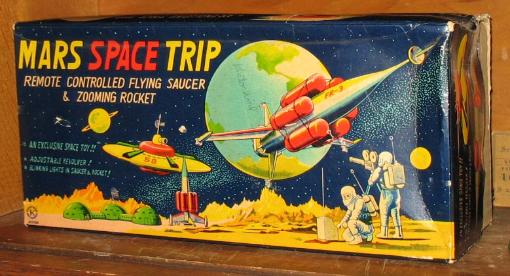 rare space toys vintage moon toy appraisals free japan tin car appraisals, vintage space toys value guide, Japanese tin space car, japan box appraisals,  japan tin toy robots antique toy appraisals Real vintage space toys with vintage robots Antiques road show, Buying all space ships and vintage japan tin cars battery operated