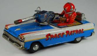 free appraisals buddy l vintage space toys appraisals, buddy l toy cars appraisals, rare sturditoy trucks appraials, rare tin toy cars appraisals,  robot appraisal antique toy appraisals robots space cars wind-up battery operated appraisals